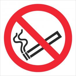 Smoking ban signs