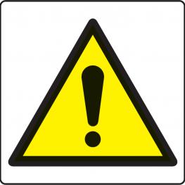 HAZARD AND WARNING SIGNS