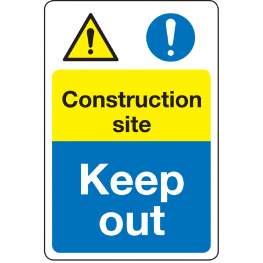 Multi Message Safety Signs